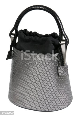 Women Gray Bag Stock Photo & More Pictures of Backgrounds