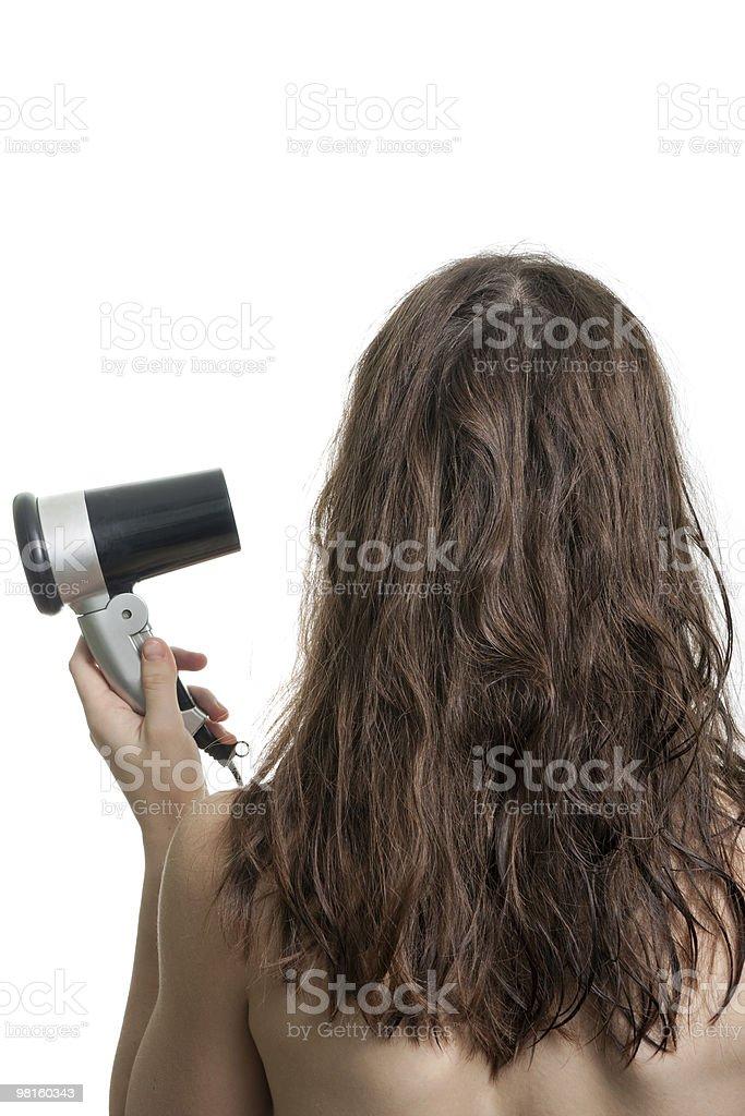 Women hair royalty-free stock photo