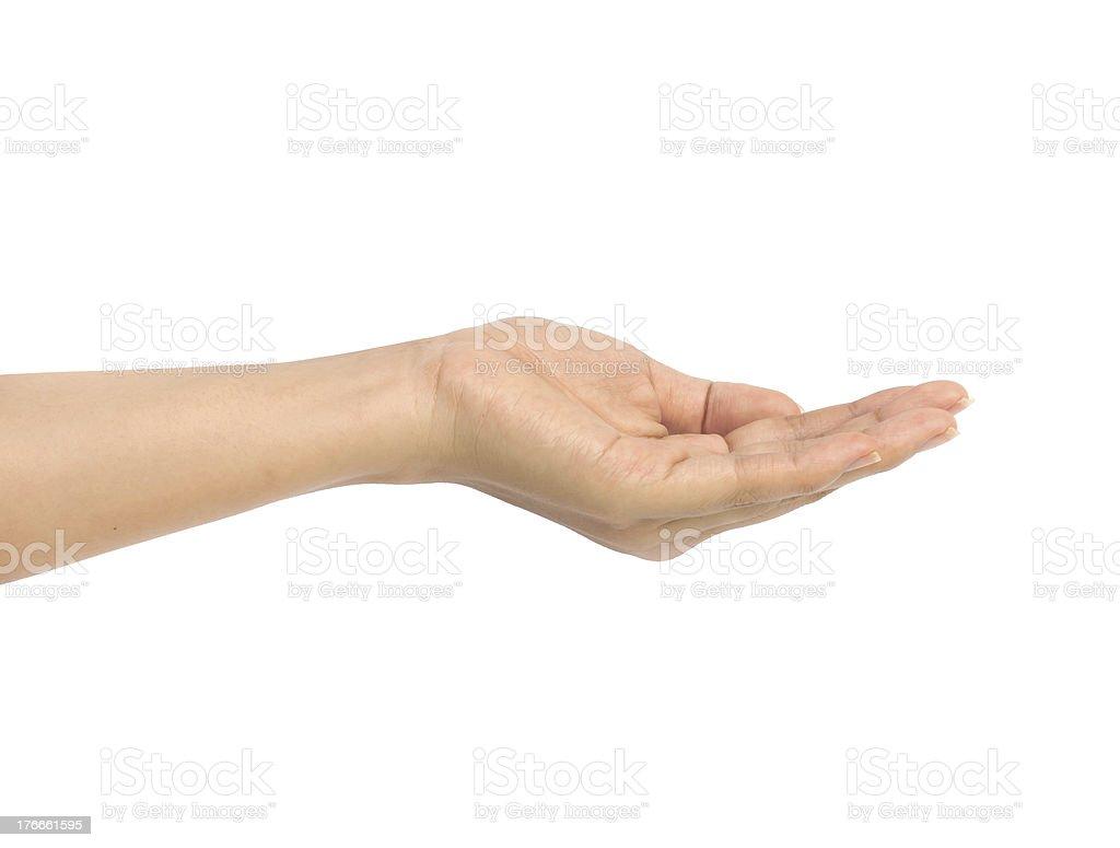Mujeres de mano firme. foto de stock libre de derechos