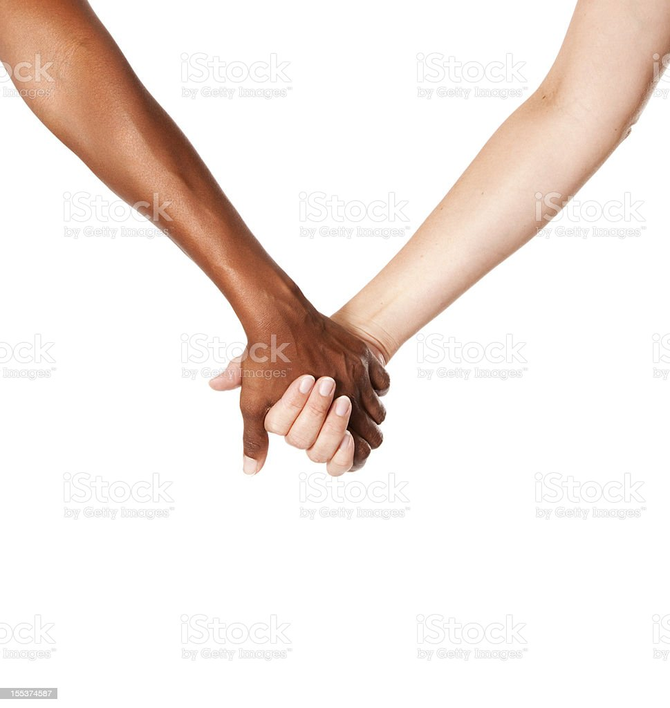 Women Holding Hands stock photo