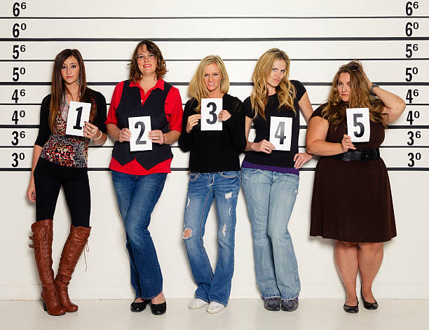 Police Line Up Stock Photos, Pictures & Royalty-Free