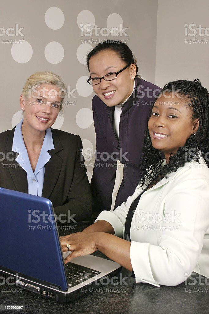 Women in Business 4 royalty-free stock photo