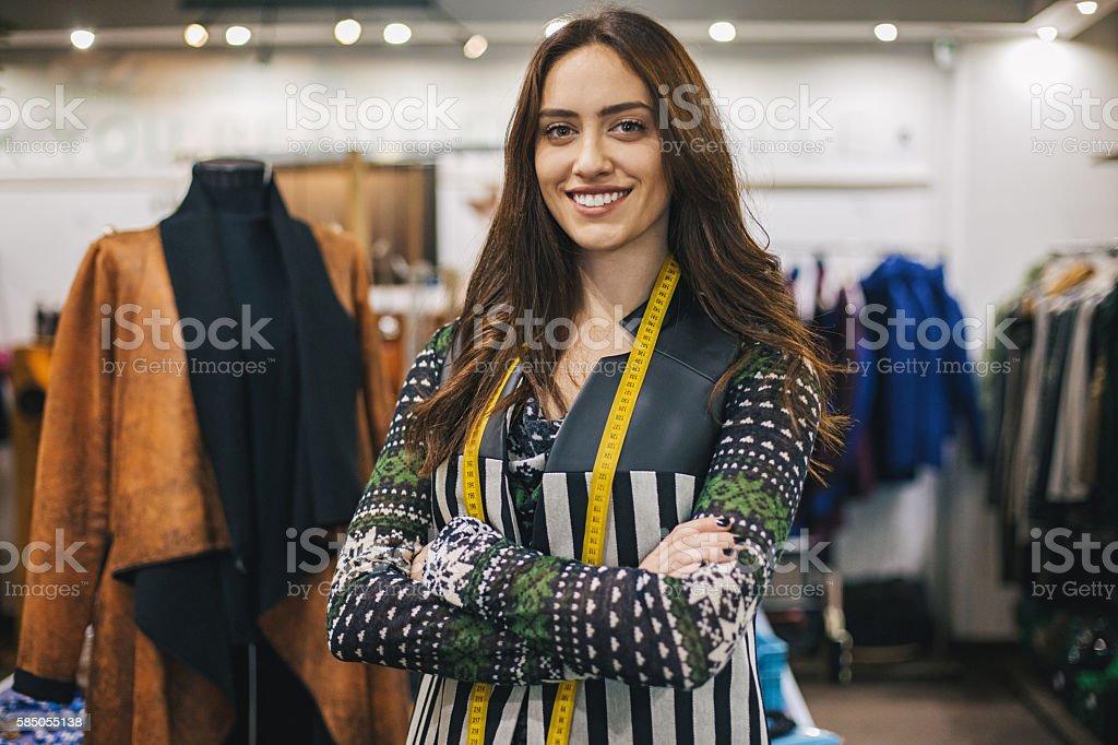 Women in fashion business stock photo