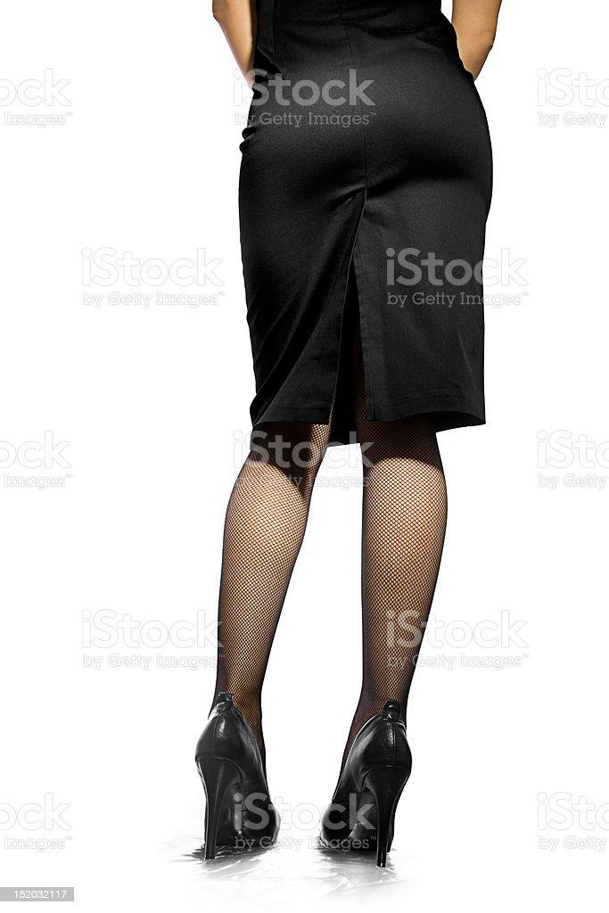 Women in high heels royalty-free stock photo