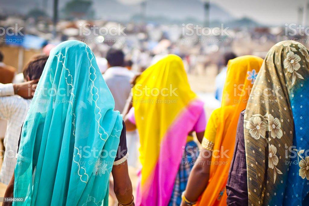 Women in India stock photo