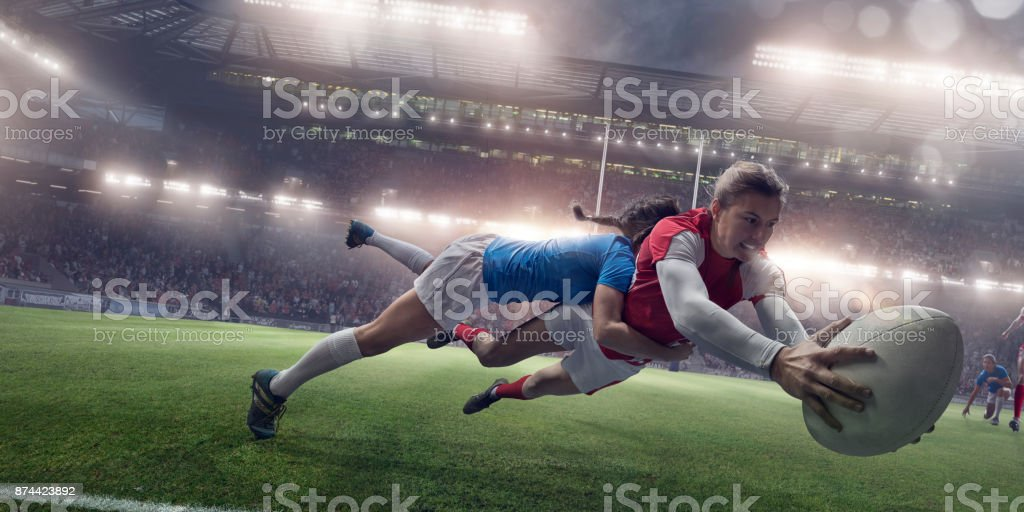 Women in Sport stock photo