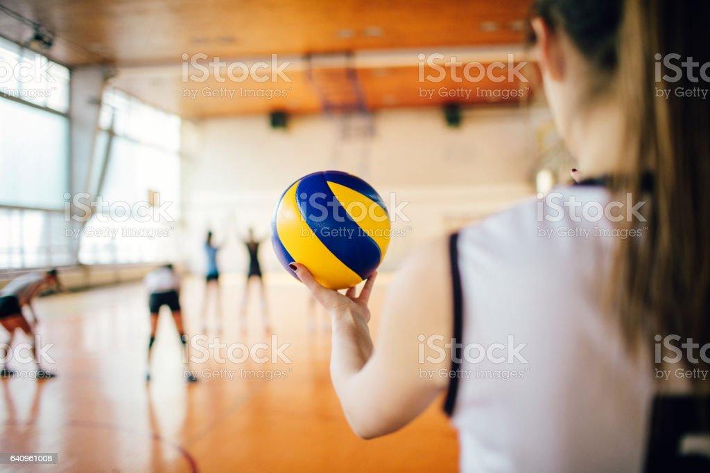 Frauen im Sport - Volleyball – Foto