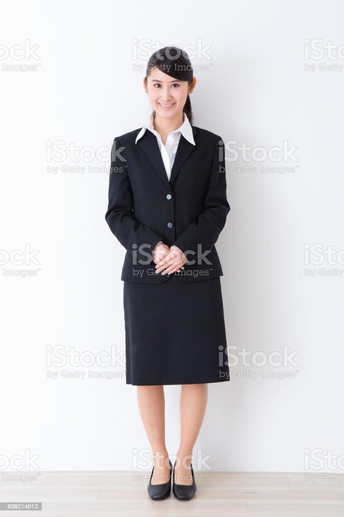 スーツを着た女性 ストックフォト