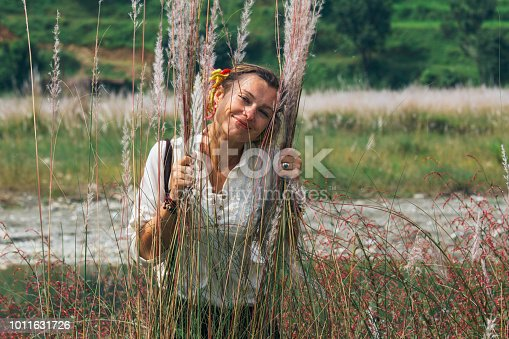 istock women in the feather grass 1011631726
