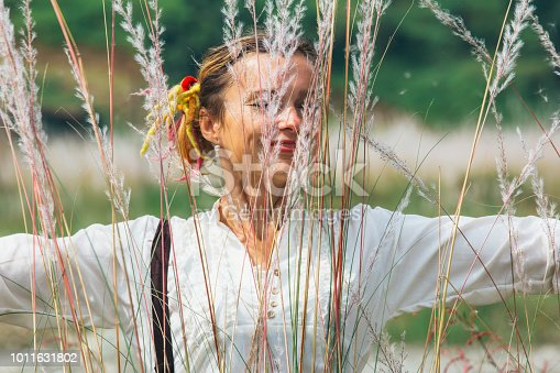 istock women in the feather grass 1011631802