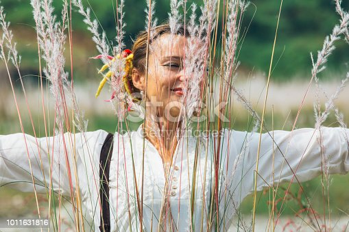 istock women in the feather grass 1011631816
