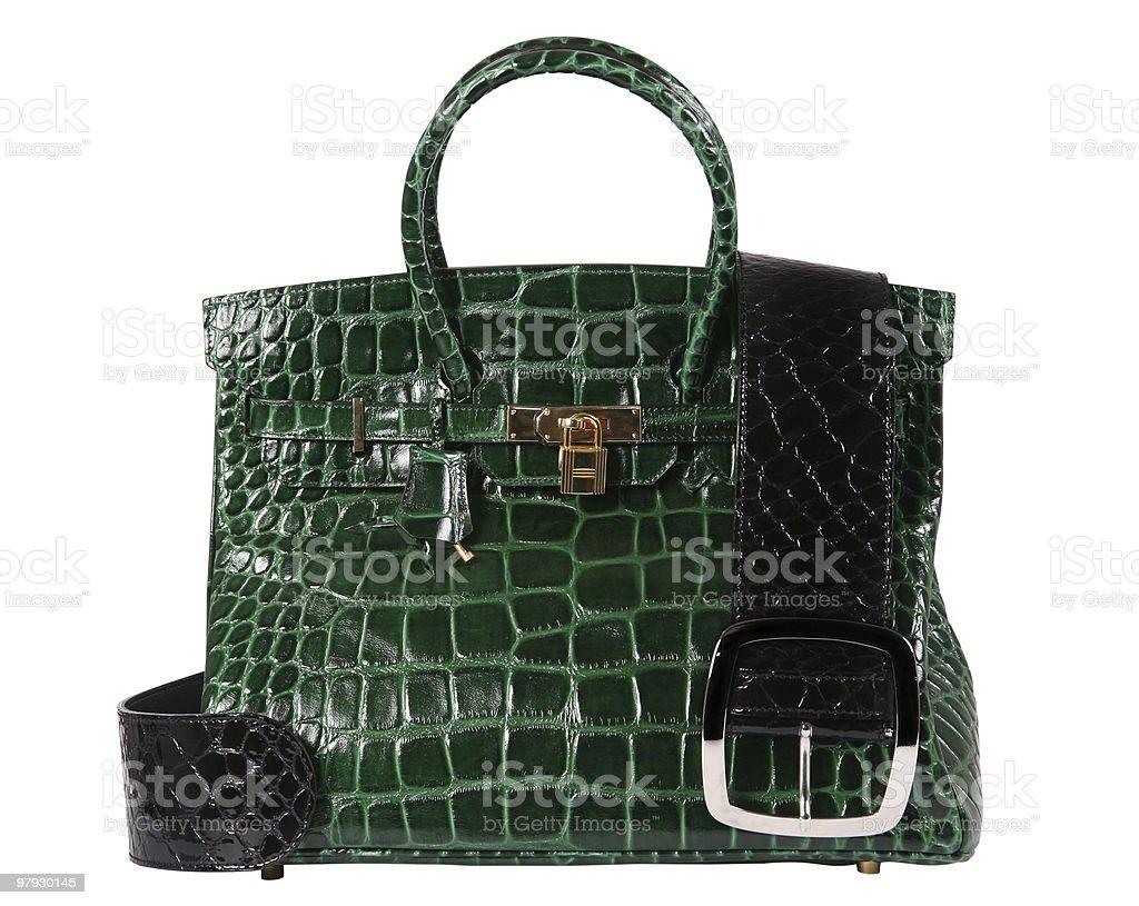 Women leather bag royalty-free stock photo