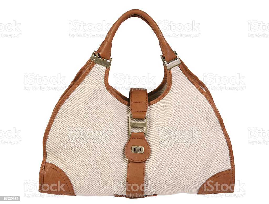 Women leather bag royalty-free stock photo