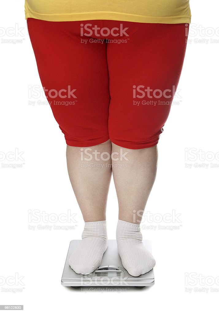 women legs with overweight royalty-free stock photo