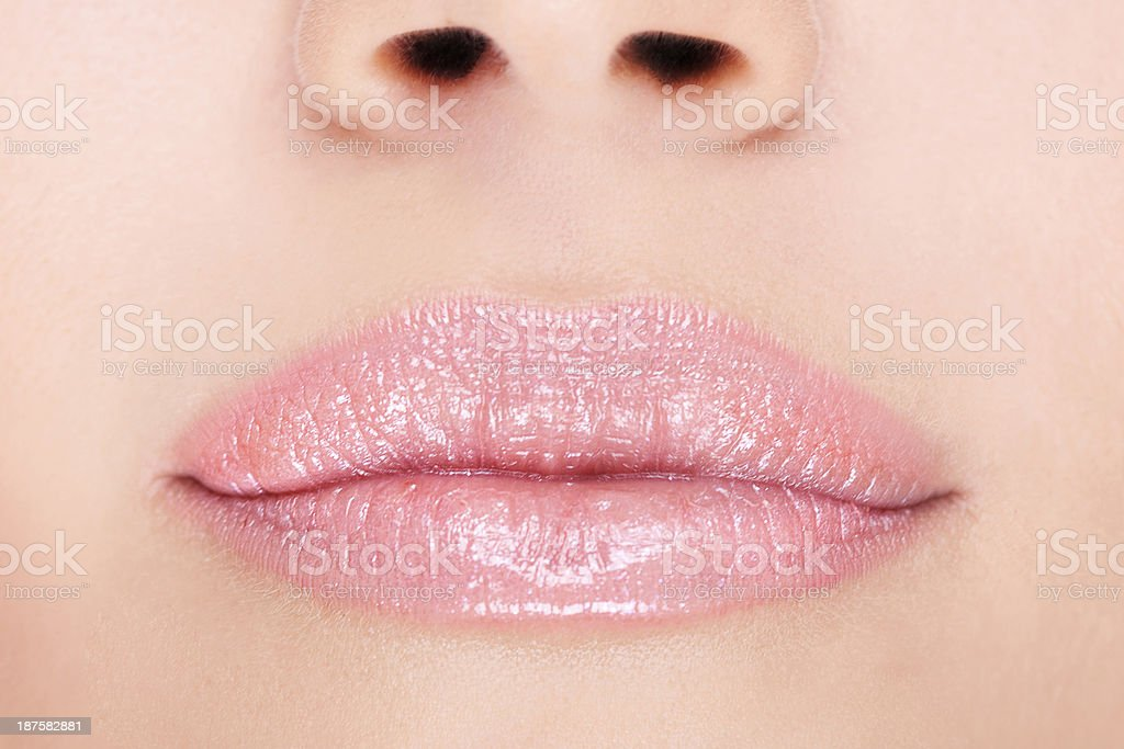 Women Lips stock photo