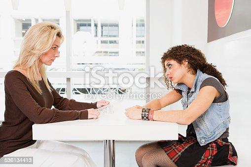 istock Women looking hostile 536134413