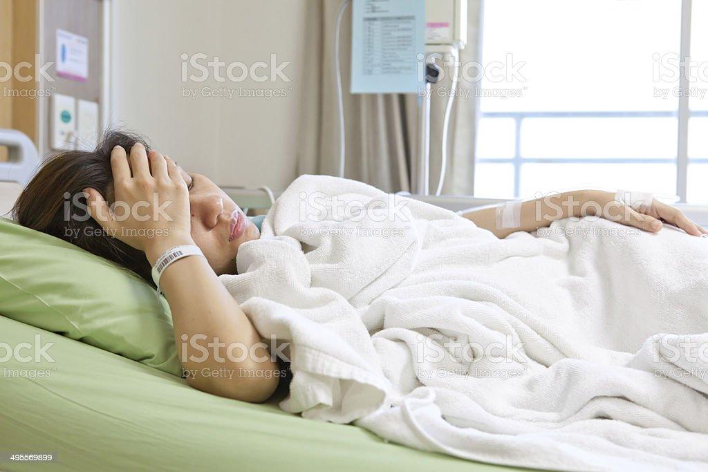 Frauen Patienten im Krankenhaus – Foto