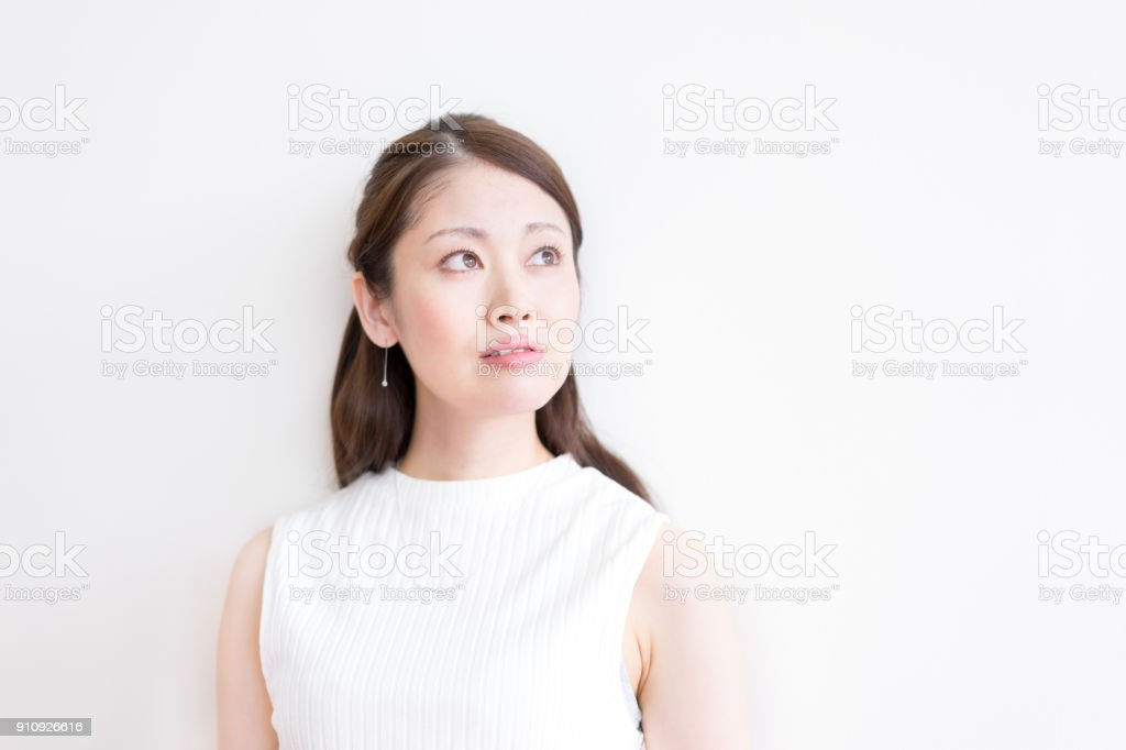Women · portraits · natural facial expressions stock photo