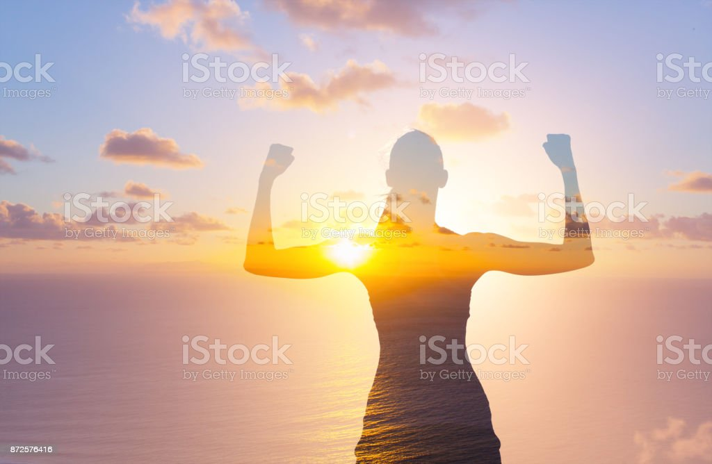 Women power! stock photo