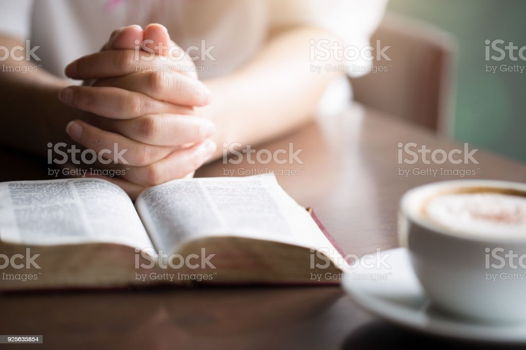Women reading the Holy Bible., reading a book.,reading stock photo