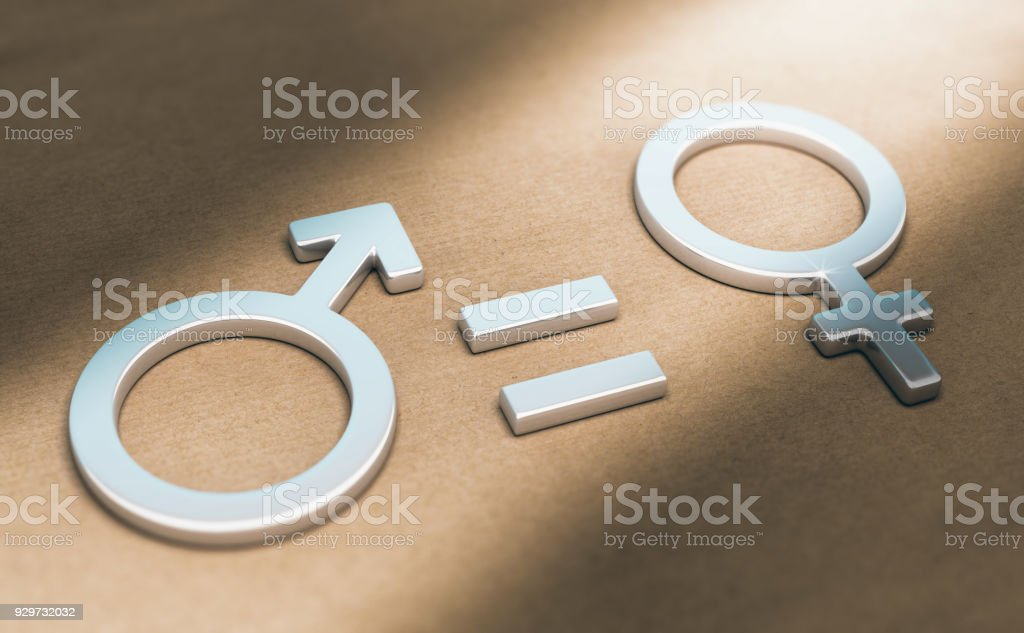 Women Rights, Sexual or Gender Equality stock photo