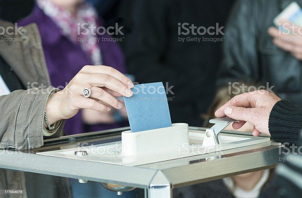women's hand Abstimmung – Foto