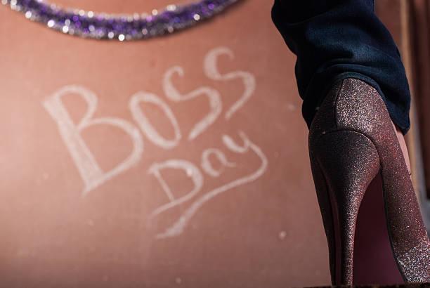 women shoes with crystals closeup - boss's day fotografías e imágenes de stock