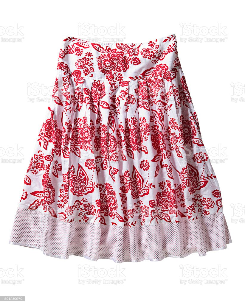 women skirt stock photo