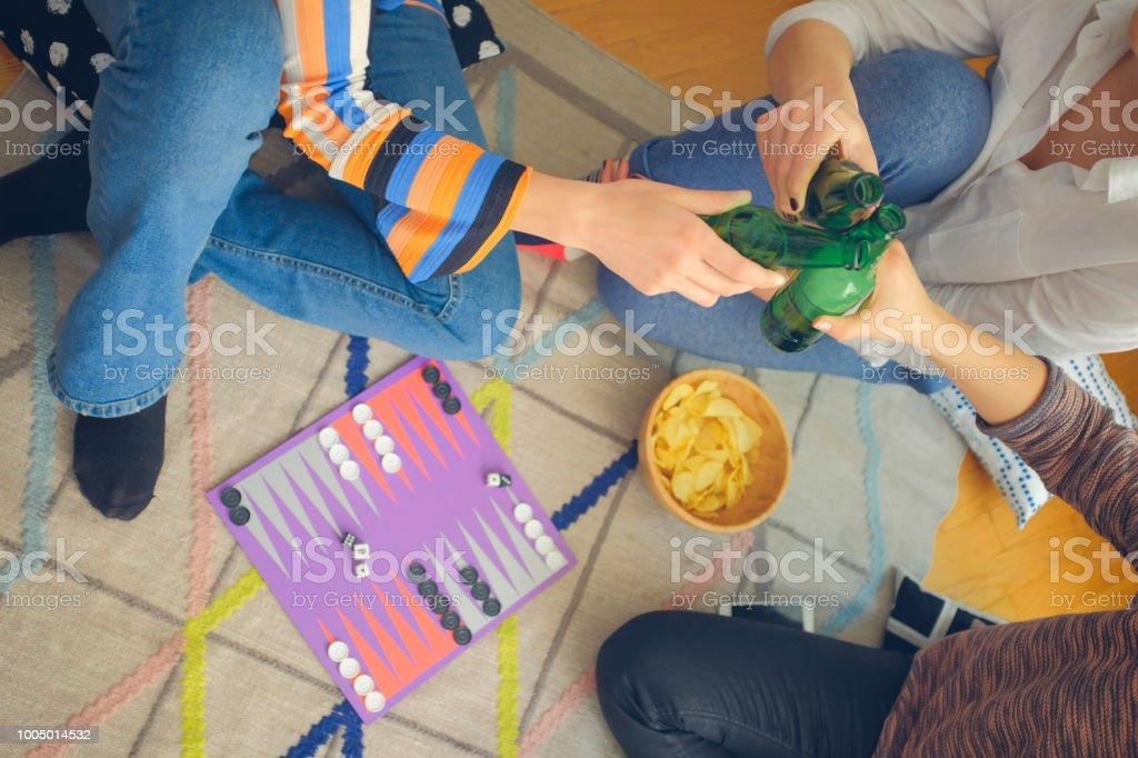 Women Socializing stock photo