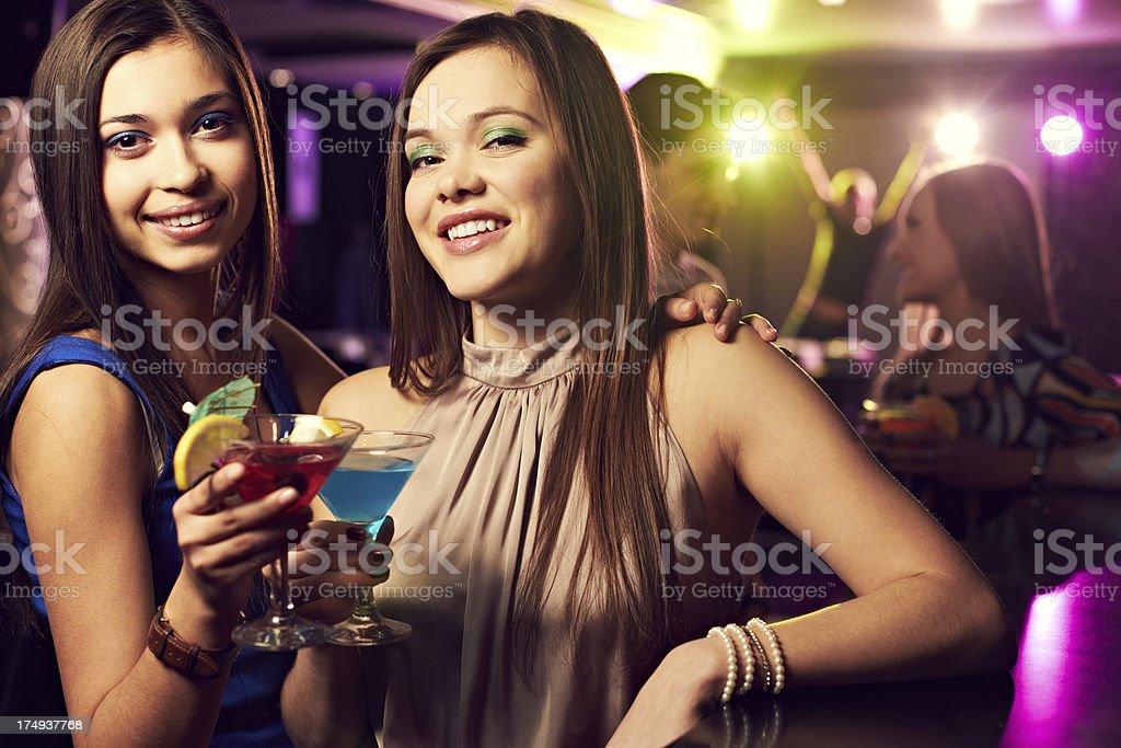 Women toasting royalty-free stock photo