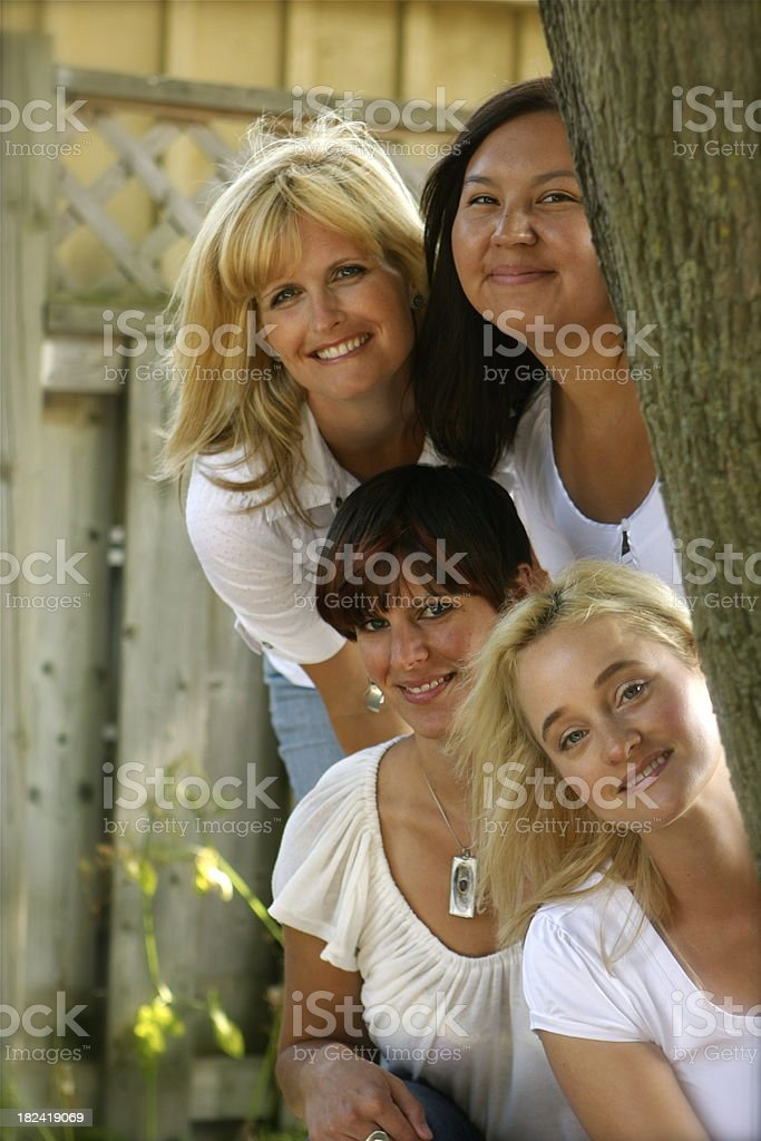 Women Together royalty-free stock photo