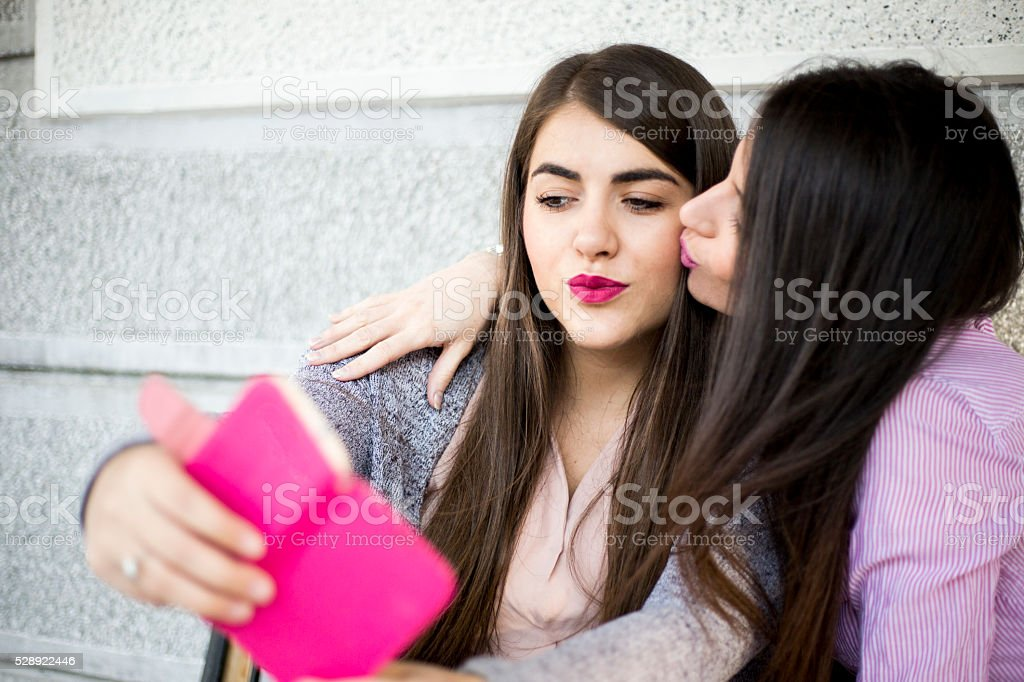Women, together stock photo