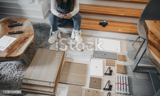 459373065 istock photo women using phone at hom 1226104083