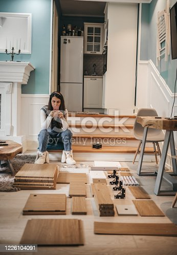459373065 istock photo women using phone at hom 1226104091