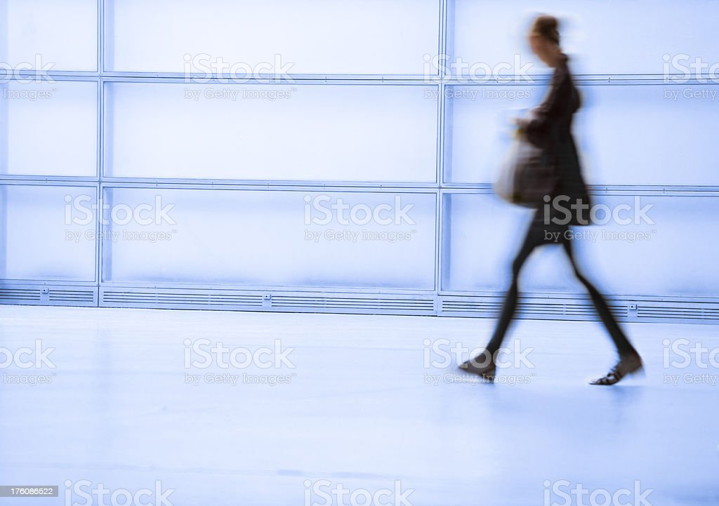 Women walking royalty-free stock photo
