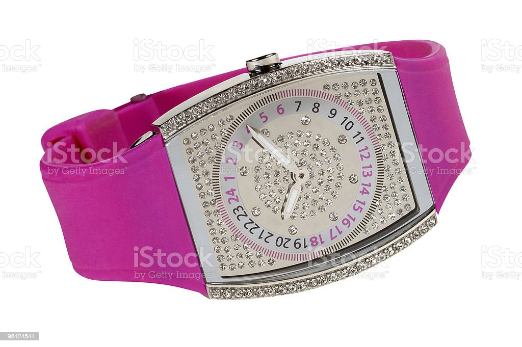 Women watch royalty-free stock photo