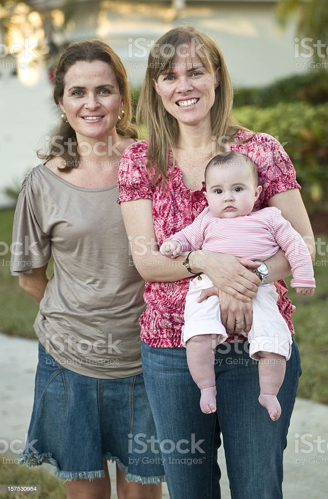 Women with baby royalty-free stock photo