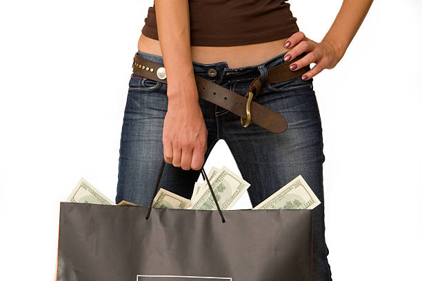 women with money - depositor stock pictures, royalty-free photos & images
