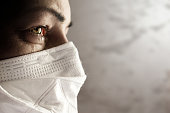 istock Women with safety mask from coronavirus. Covid-19 outbreak around the world 1213428684