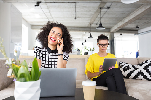 Women Working On Design Office Stock Photo - Download Image Now