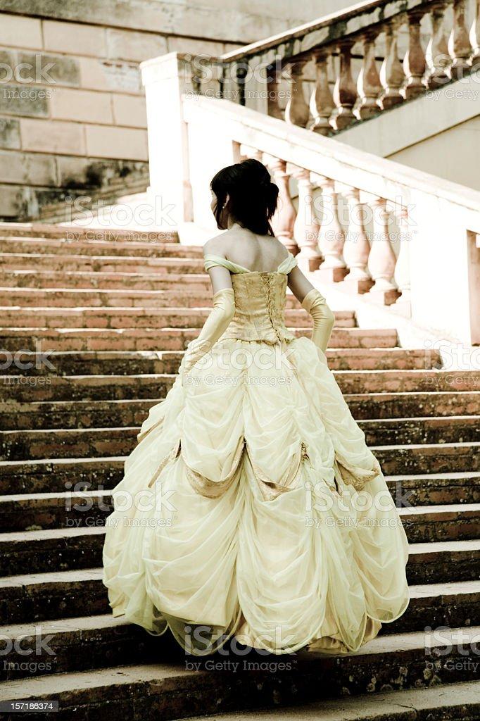 women young princess stock photo