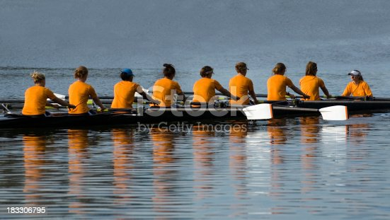 istock Women's 8 Person Rowing Team 183306795