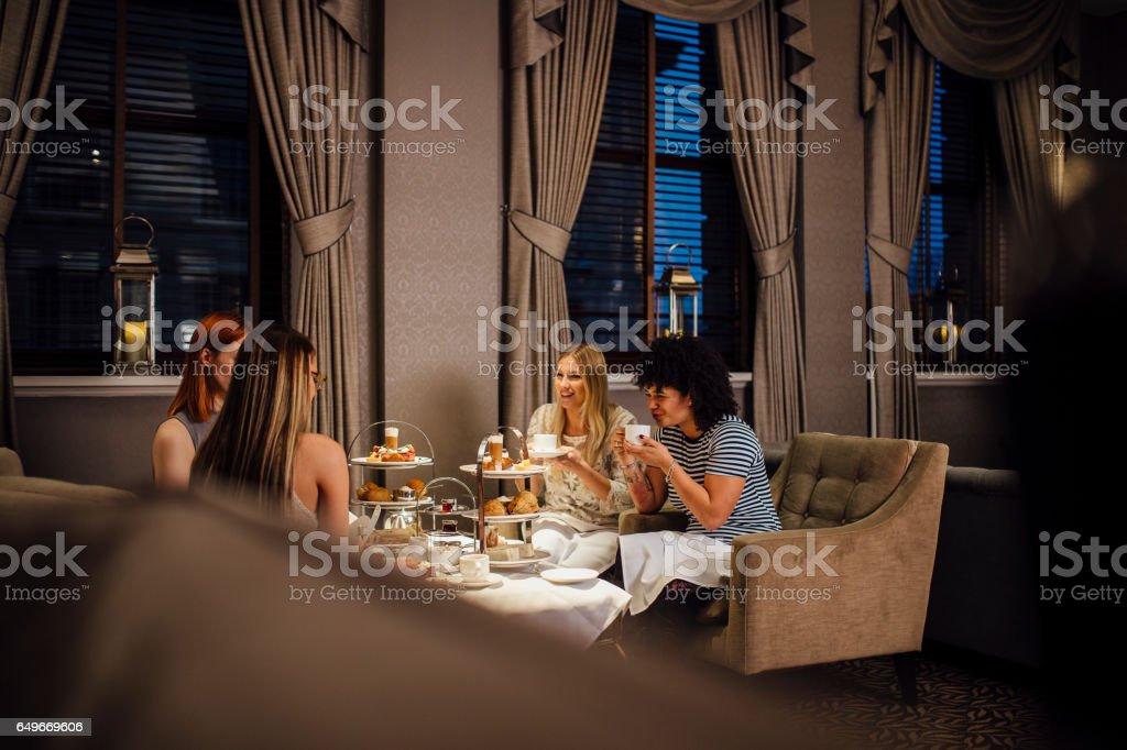 Women's Afternoon Tea stock photo