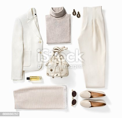 istock Women's clothing and personal accessories 666666252