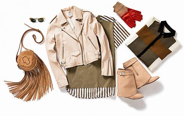 女性用衣料 - 秋のファッション ストックフォトと画像