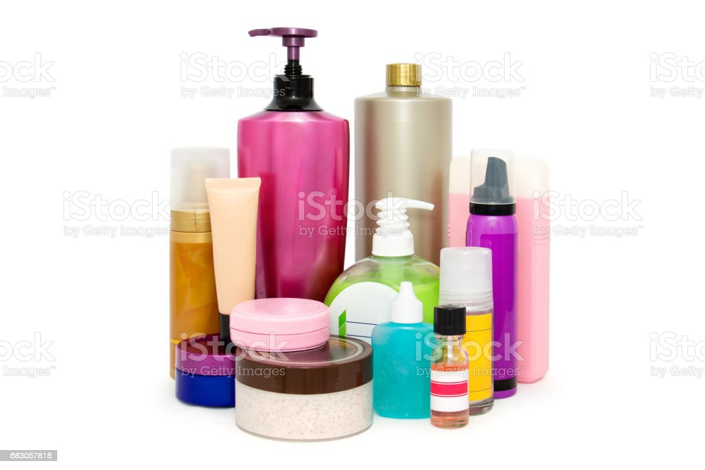 Women's cosmetics stock photo