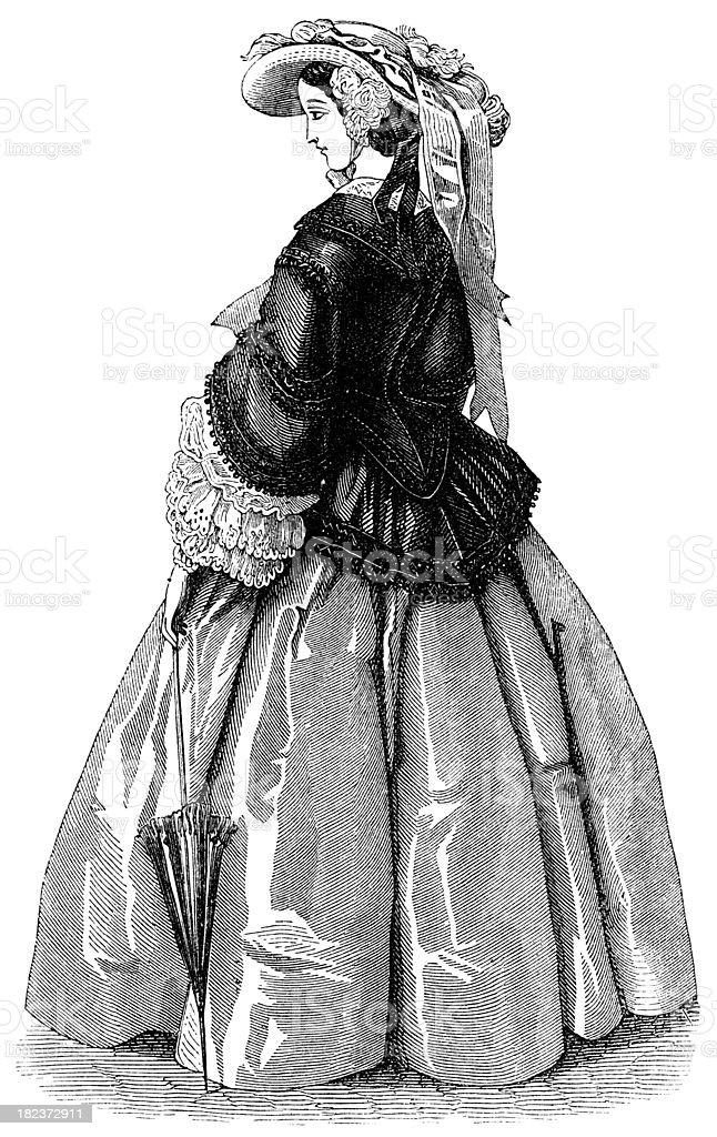 women's dress royalty-free stock photo