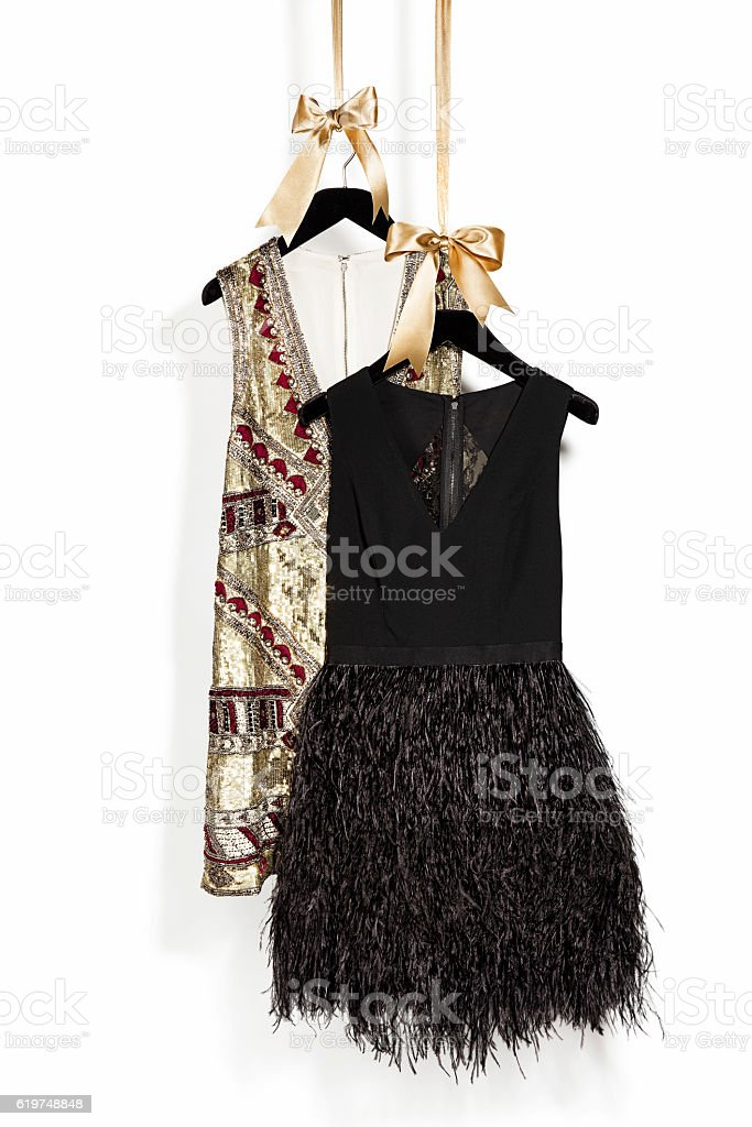 women's dresses stock photo