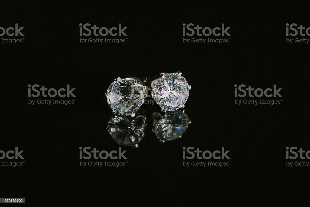 Women's Earrings stock photo