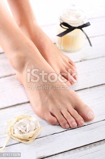 istock Women's feet 474111078